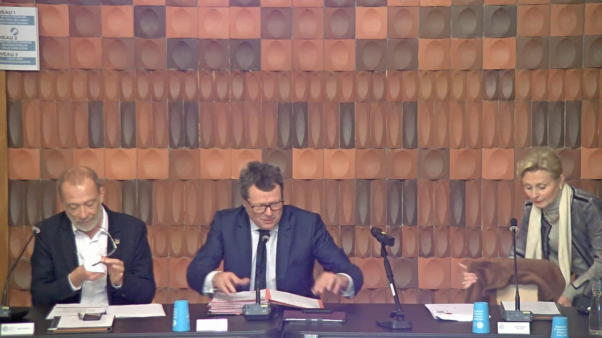 Conseil Municipal du 25 février 2019