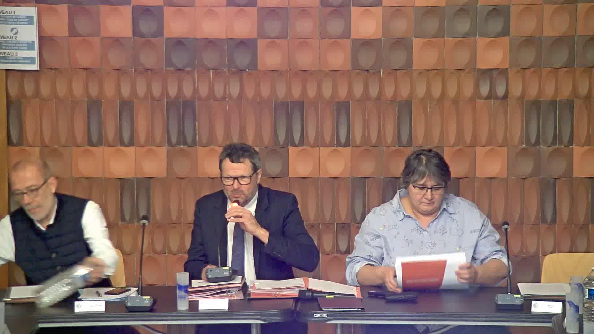 Ouverture du Conseil municipal