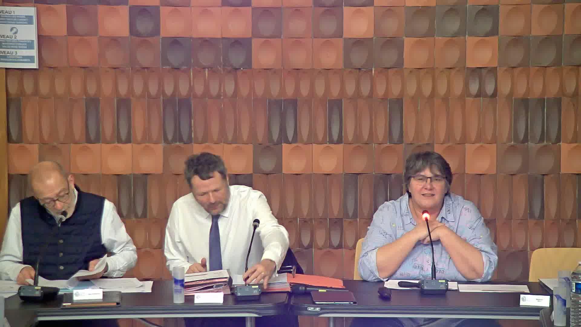 Avis de la commune de Villers-lès-Nancy sur le dossier de déclaration d'utilité publique des travaux nécessaires au renouvellement et à l'extension du tramway