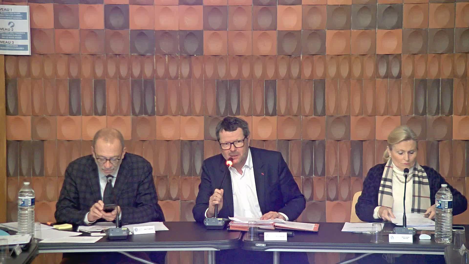 Conseil Municipal du Lundi 20 janvier 2020